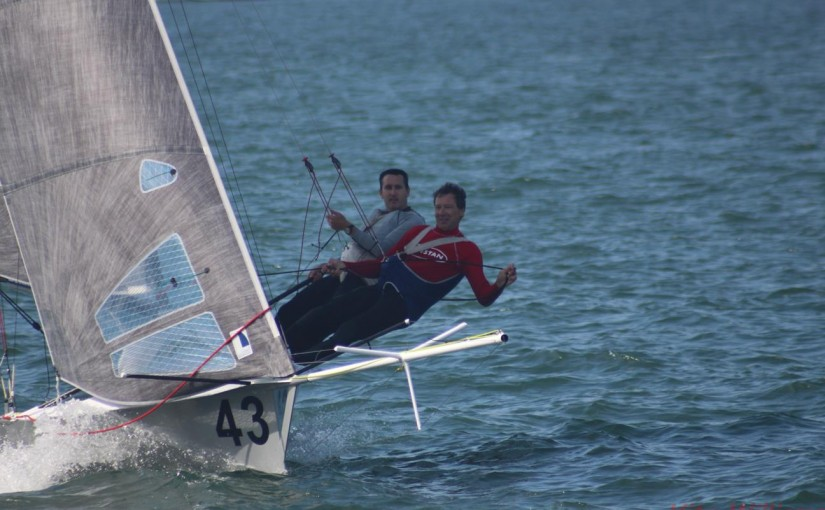 Sydney Sailmakers pips Geotherm for 12ft Skiff Parramatta River Championship