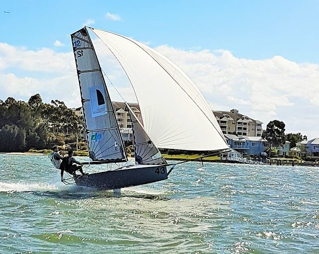 Sydney Sailmakers Crowned  NSW 12ft Skiff Champions