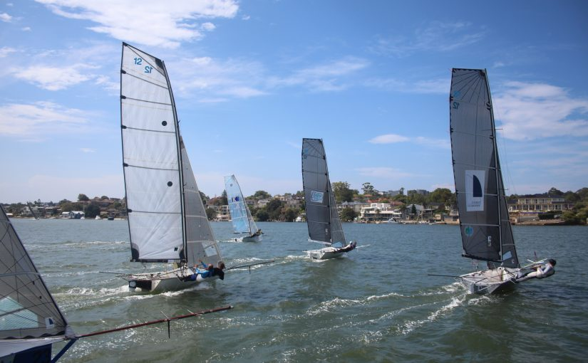 2017-18 NSW 12ft Skiff Association Race Calendar