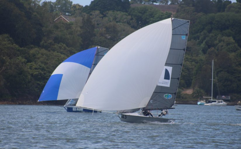 Sydney Sailmakers 'Press and Hay' take out 12ft Skiff Sprint series