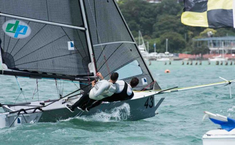 Sydney Sailmakers Leads at the Break