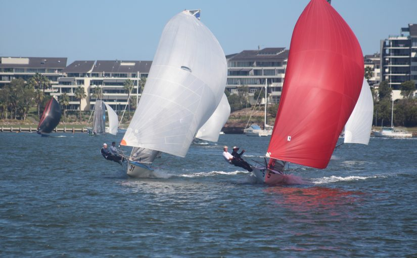 Sydney Sailmakers take out 12ft Skiff Sprint series
